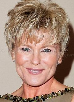 Picture of short hairstyles for women over 50 Short hair