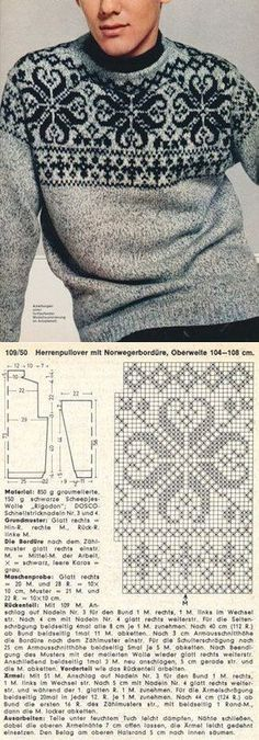 Knitting Men Sweater Pattern Fair Isles 27 Ideas For 2019 Knitting Machine Patterns, Knitting Stitches, Free Knitting, Baby Knitting, Crochet Patterns, Knitting Sweaters, Pullover Sweaters, Sweater Patterns, Cardigan Pattern