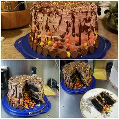 Peanut butter, Nutella, dark chocolate, reeses pieces....