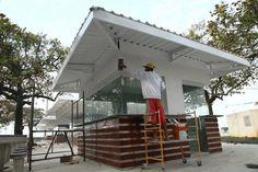 quiosque-conceito (Santos) Portugal, Outdoor Decor, Home Decor, Landscaping Design, Kiosk, Concept, Saints, Projects, Homemade Home Decor