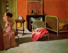 Woman being capped - Felix Vallotton - WikiArt.org
