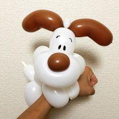 Dog Bracelet #balloonart #バルーンアート