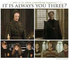 Minerva McGonagall, Hogwarts' HBIC.