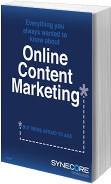 Everything You Always Wanted to Know about Online Content Marketing (But Were Afraid to Ask) - an eBook about joining the content marketing evolution.