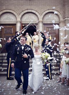 I absolutely cannot wait for this moment. the military wedding sabre arch! Army Wedding, Wedding Pics, Wedding Styles, Wedding Ceremony, Our Wedding, Dream Wedding, Military Weddings, Wedding Decor, Wedding Things