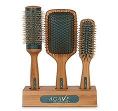 BIO IONIC AGAVE HEALING OIL NATURAL BAMBOO HAIR BRUSHES SET ECO FRIENDLY Bio Ionic http://www.amazon.com/dp/B00LXFCY32/ref=cm_sw_r_pi_dp_-kOXub09XBZJ5