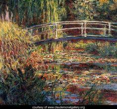 Monet Bridge: A Step-by-Step Painting Demo | Monet and Claude monet