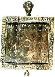 Ballinderry game board, Dublin, 10th century.