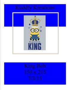 (4) Name: 'Crocheting : King Bob 150 x 215