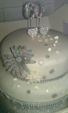 60th wedding anniversary cake!                                                                                                                                                                                 More