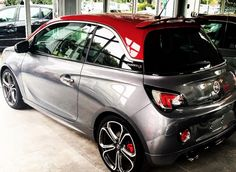 opel adam s gray and red concept