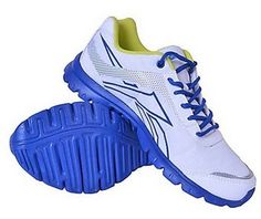 Use Coupon Code: BIGFOOT & Get Flat 10% Extra Off  CATEGORY    :   Sports USAGE    :   Running OCCASION  :     Daily COLOUR    :   White, Blue, Yellow COLOUR FAMILY   :   White CLOSING     :   Lace Ups MATERIAL    :  Synthetic Leather MATERIAL FAMILY  :   Synthetic Leather SOLE    :   Rubber SOLE FAMILY   :    Rubber