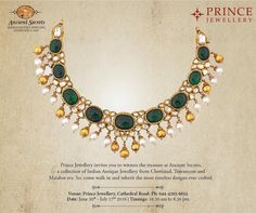 """17 Likes, 2 Comments - Prince Jewellery (@princejewelleryindia) on Instagram: """"Prince Jewellery invites you to witness the treasures of Ancient Secrets, a collection of Indian…"""""""