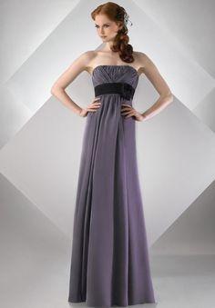 Love this. Bridesmaids. Perhaps gray dresses with a black sash?