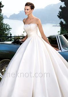 Check out this #weddingdress: Roble by ST. PATRICK via iPhone #TheKnotLB from #TheKnot
