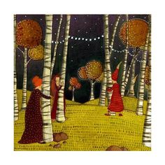 Illustrations/BD - Lili Gribouillon ❤ liked on Polyvore