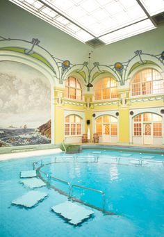 The most heavenly pool. Hagabadet in Göteborg/Gothenburg. via fine little day