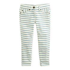sketchbook jeans in stripe