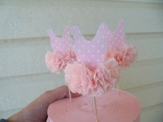 Ballerina Tutu Cupcake Toppers Set of 6 for Ballet by JeanKnee