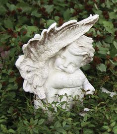 OrlandiStatuary Angels Blissful Slumber Cherub Statue