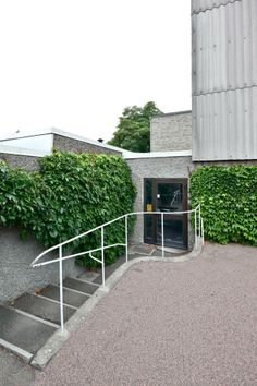 A&EB 13.  Sigurd Lewerentz > Östra Kyrkogarden / Sankta Gertrud, Sankta Birgitta, Flower Kiosk, Malmö