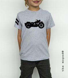 Camiseta Niño MOTO MILITAR S3 AJS