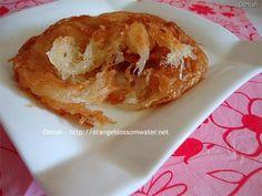 Bsaisat / Twaitat - Syrian flaky fried dough, dipped in lemon syrup