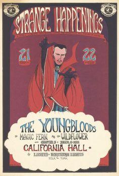 Greg Irons Art: `Strange Happenings' Handbill, 1967