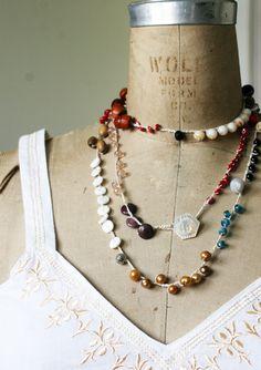 Etsy Transaction - Crochet Beaded Necklace--No. 01