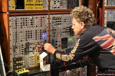 Martin Gore @ studio