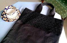 ハンドメイドマーケット minne(ミンネ)| ブラックフォーマル★敬老の日、母に贈るブラック・サブバッグ