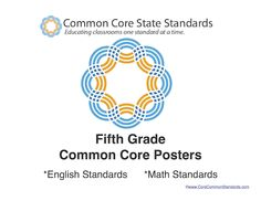 This set of Fifth Grade Standards posters includes a full page poster for all of theFifthGrade Common Core Standards. This poster set includes bothFifthGrade English Standards andFifthGrade Math Standards.This poster set will be emailed to you shortly after you place your order.