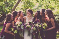 Wedding Photography - Asah Creations #bridesmaids #bridal #party