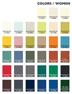 Lenzing Color Trends Autumn/Winter 2014/15 - Womenswear