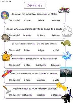 Lecture - Harmos - (page - Maîkresse d'appui - Here's a List of Education Companies Offering Free Subscriptions to . French For Beginners, French Basics, French Worksheets, Material Didático, French Education, French Grammar, French Classroom, French Language Learning, English Language
