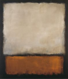 Darkbrown and grey by Mark Rothko - art print from King & McGaw