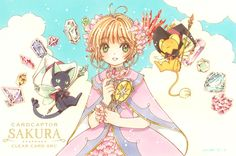 Manga Anime, Read Anime, Manga Art, Anime Art, Cardcaptor Sakura, Card Captor, Shugo Chara, Clear Card, Magical Girl