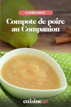Voici la recette de la compote de poires au Companion pour toute la famille. #recette #cuisine#compote #pomme #poire #fruit #robot #robotculinaire #companion Fruit, Voici, Cantaloupe, Robot, Salads, Cooking Recipes, Pears, Robots