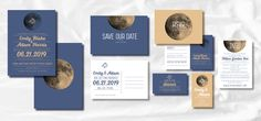 The MOON Suite   MEET RUSTIC: TO THE MOON AND BACK  Look no further for the perfect folk invitations to set the theme for a fun outdoor country wedding. Hand drawn details add personality to your suite. Rustic is a walk in forest, flowery, vegetal, outdoorsy, natural. Stargazing, moon