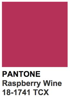 Pantone 18-1741 TCX Raspberry Wine Vintage Colour Palette, Colour Pallete, Colour Schemes, Pink Paint Colors, Wall Colors, Colours, Color Box, Colour Board, Pink Kitchen Paint