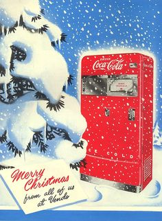 Vendo Machine christmas ad Coca-Cola