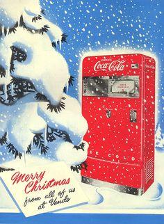 Vendo Machine christmas ad Coca-Cola