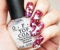 OPI - Just be-claus + Snow globetrotter