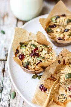 Schnelle & einfache Frühstücksmuffins {glutenfrei & zuckerfrei (Baking Bread Tips)