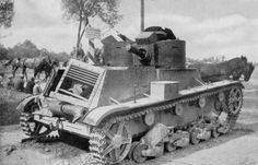dw - twin turret variant )- Polish light tank ,abandoned in the retreat, 1939 Poland Ww2, Ww1 Tanks, Nazi Propaganda, Armored Vehicles, World War Two, Historical Photos, Military Vehicles, Wwii, Abandoned