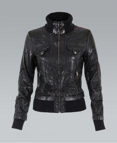http://www.krisp.co.uk/clothing-c1/jackets-coats-c44/jackets-c66/krisp-creased-pu-leather-high-neck-black-bomber-jacket-p6985