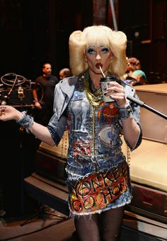 """Neil Patrick Harris on Broadway as Hedwig in """"Hedwig and the Angry Inch."""""""