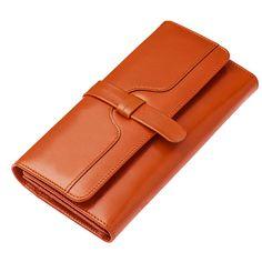 Nueva cartera charol de vintage con el precio de fábrica [TBW60005]  #cartera #piel
