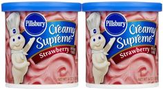 Pillsbury Strawberry Frosting 16 oz 2 pk -- Learn more by visiting the image link. Gourmet Recipes, Snack Recipes, Snacks, Strawberry Frosting, Pillsbury, Pop Tarts, Image Link, Walmart, Food
