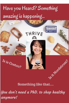 Thrive On-line healthy wholesale food shopping.  Free Shipping.  One- Month Free Sign Up ---->  http://www.welfm.com/thrive-opens-on-line-supermarket/